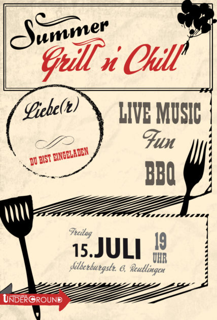 Grill 'n Chill am 15.07.2016
